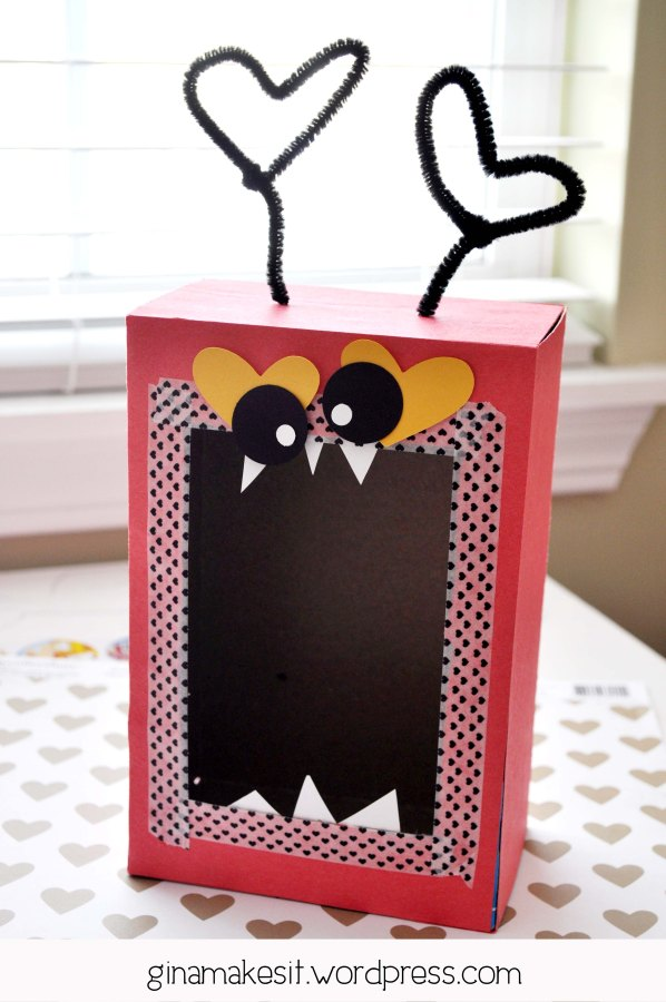 Valentine Monster Mailboxes
