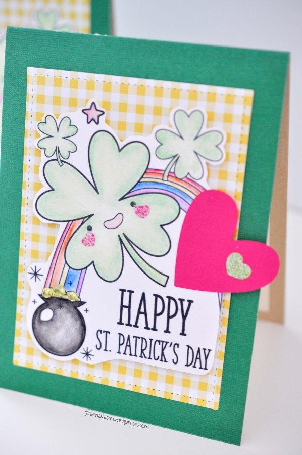 Cutie-Pie St. Patrick's DayCard
