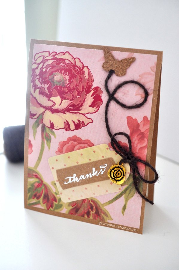 Butterfly Thank YouCard