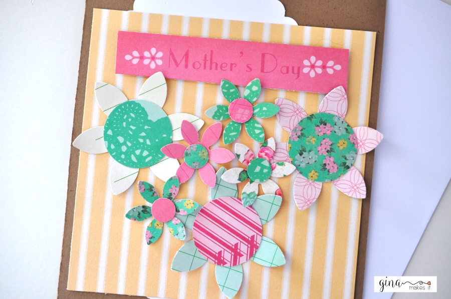 DIY Project Life Card Embellishments for Mother's DayCard
