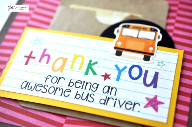 Sly image throughout bus driver thank you card printable