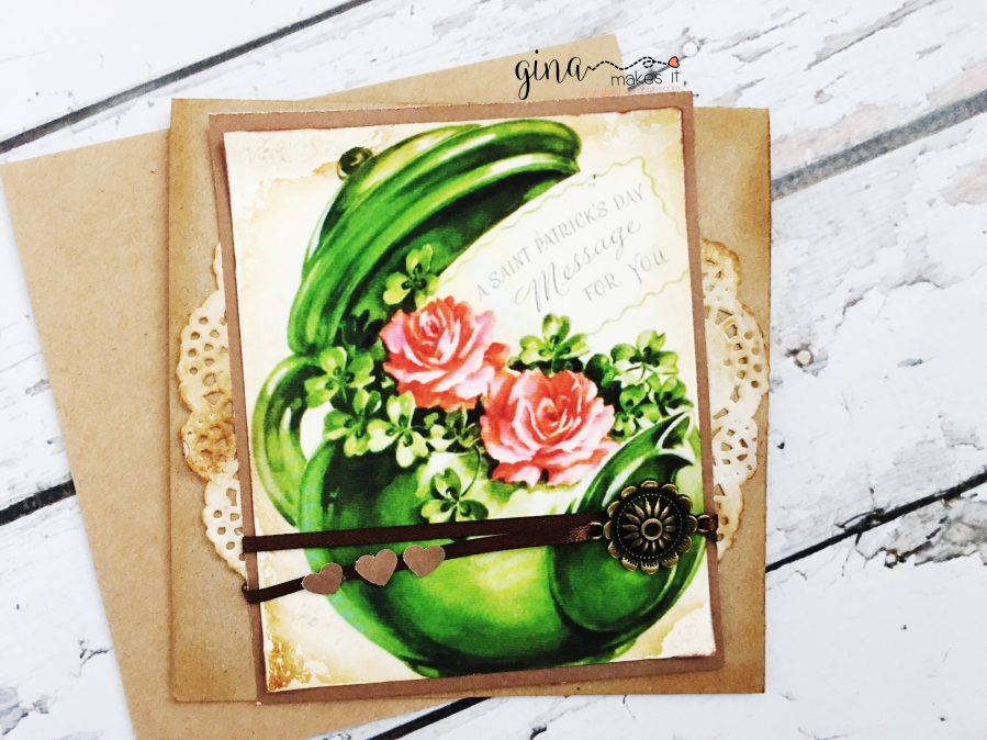 Luck O' the Irish Cardmaking