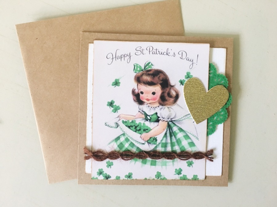 Irish Lass Card